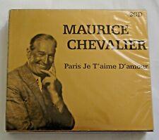 Maurice Chevalier - Paris Je T'aime D'amour (2 Disc Set)