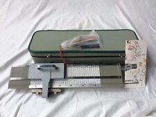 FCBMF1: Miracle Knitter Necchi-Elna Junior Knitting Machine Complete Kit