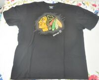 Vintage Chicago Blackhawks Logo Reebok Hockey T Shirt XL