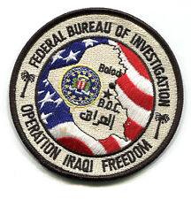 FBI FEDERAL BUREAU OF INVESTIGATION at BALAD IRAQ: Baghdad Operation Center BOC