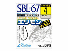 4793 Owner SBL-51 Single Hook for Spoon Barbless Size 4