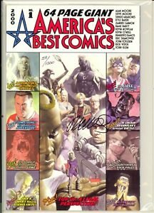 AMERICA'S BEST COMICS #1 - SIGNED BY HUMBERTO RAMOS -W/ DYNAMIC FORCES COA