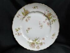 Haviland Poppy Pink White Gold Poppy: Dinner Plate AS IS 10 1/4""