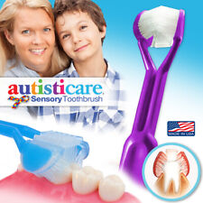 Autisticare | The Only Child-Safe 3-Sided Toothbrush | Special Needs Autism Calm