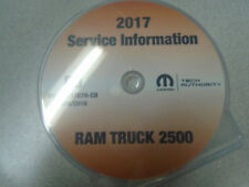 2017 DODGE RAM TRUCK 2500 Workshop Service INFORMATION Shop Repair Manual CD NEW