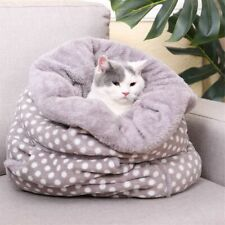 Pet Warm Soft Bed For Dogs Cats Multi-Functional Velvet Sleeping Cushion Mat