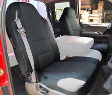 DODGE RAM 1500 2500 3500 1998-2002 BLACK VINYL CUSTOM FRONT SEAT COVERS