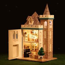 1:24 DIY Assembly Miniature Dollhouse Kit - Moonlight Castle Themed
