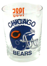 Chicago Bears 1985 Monsters of the Midway Collectible Barware Glass Man Cave