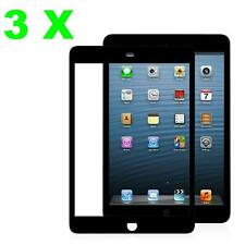 3X Colorful Clear Screen Protector Film Cover Guard Shield Apple iPad 2/3/4 +KIT