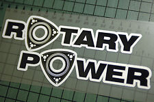 ROTARY POWER Sticker Decal Vinyl JDM Euro Drift Lowered illest Fatlace