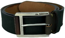 Cintura Uomo Donna Verde Scuro La Martina Belt Men Woman Dark Green 023.A90