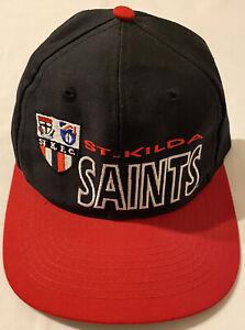 1990s Rare Vintage St Kilda Saints AFL Hat Cap