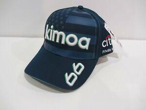 NEW 2020 FERNANDO ALONSO KIMOA #66 McLAREN $35 INDIANAPOLIS 500 HAT CAP INDY CAR