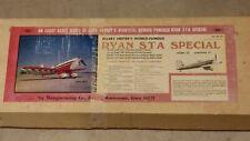 "Vintage SIG Ryan STA Special 72"" RC Model Airplane Kit RC-27"