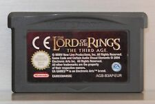 THE LORD OF THE RINGS THE THIRD AGE - GAME BOY ADVANCE - VERSION EUR - CARTUCHO