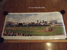 dated 1998 Poster Frontier Field Home of the  Rochester NY Red Wings Baseball