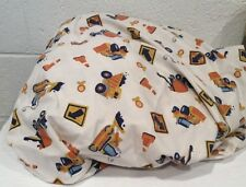 Circo Construction Zone Build It Twin Fitted Sheet Flawed Cutter Fabric