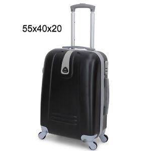Valigia ORMI trolley rigido da cabina bagaglio a mano 55x40x20 in abs 4 ruote