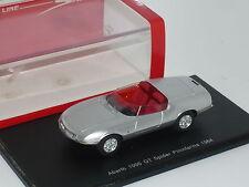 New 1:43 Spark Fiat Abarth 1000 GT Pininfarina Spider Concept Car Prototype 1964