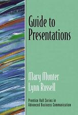 Guide to Presentations (Guide to Series in Business Communication), Russell, Lyn