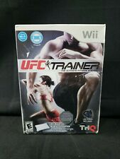 Ufc Personal Trainer: The Ultimate Fitness System Wii Nuevo En Caja Sellado De Fábrica