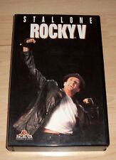 VHS - Rocky V 5 - Sylvester Stallone - Videokassette