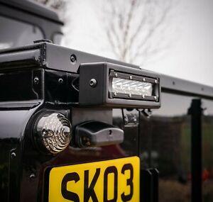 Land Rover Defender Rear Reverse / Work Lightbar & Stainless Steel Housing - Upr