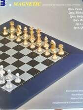 31CM Top Quality Magnetic Modern Colour Chess Set Game Board