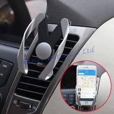 Silver Car Air Vent Freely Stretch Adjustable Phone Accessories Brace Holder