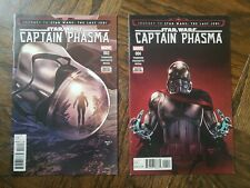 LOT x2 STAR WARS: CAPTAIN PHASMA Issues #3 & #4 Standard Covers Marvel 2017 NR!