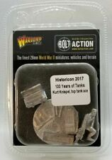 Warlord Games 2017 Historicon 100 Years of Tanks - New Sealed - bolt action