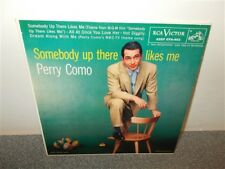 * Perry Como . Somebody Up There Likes Me .  Canadian RCA EPA-903 .  45