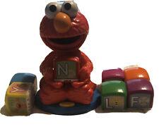 Sesame Street And Elmo Find & Learn 7 Blocks Alphabet Blocks Talking Tested