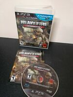 PS3 PlayStation 3 Heavy Fire: Afghanistan IMPORT Ultra Rare Us Trophy Inhand