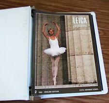 Leica Fotografie Magazine 1983 Issues 2 through 7 with binder English Edition