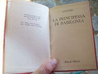 """1956 VOLTAIRE: """"LA PRINCIPESSA DI BABILONIA"""". EDIZIONE RIZZOLI B.U.R."""