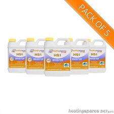 5 x HS1 Central Heating Inhibitor 1 liter ( like Fernox, Sentinel & Calmag )