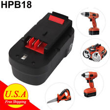 HPB18 For BLACK+DECKER 18V Slide Battery FSB18 A1718 A18 HPB18-OPE 244760-00 New