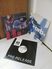 Orb Adventures beyond ultraworld 1991 Pulsating Brain Blue Room Vinyl Record Lot