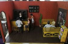 Doll house Room Box Bar With Funitures~ 1:6 Pullip Blythe Momoko Monster Barbie