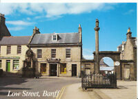 Scotland Postcard - Low Street - Banff - Aberdeenshire - Ref AB3163