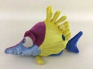 "Disney Store Finding Nemo Tad Fish Mini Bean Bag 8"" Plush Stuffed Toy New"