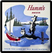 Vintage Hamms Beer Sign Refrigerator Toolbox Magnet