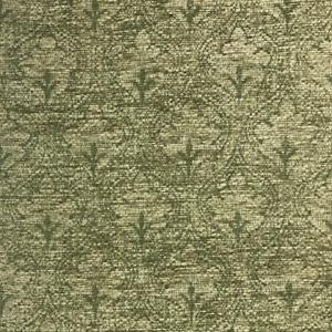 High Quality Floral Green Chenille Fabric Woven Fire Retardant Upholstery AF06