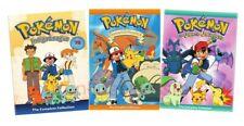 Pokemon Season 1 2 3 Indigo League Orange Islands The Johto Complete DVD Set Lot