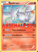 POKEMON - RESHIRAM - RARA HOLO 17/116 (PLASMA FREEZE) NUOVA MINT