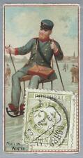 1885 N85 Postage Stamps #27 Mail In Winter Portugal Stamp VG-EX