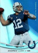 2013 Topps Platinum #95 Andrew Luck Colts