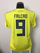 FALCAO #9 BNWT Colombia Home Football Shirt Soccer Jersey 2018/19 (L)